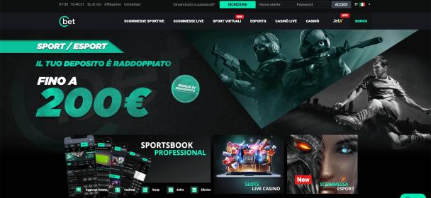 Sport e gaming su Cbet, bookmaker innovativo